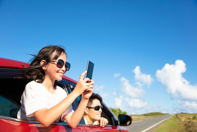 smartphone car